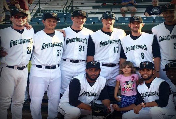 Augusta GreenJackets Baseball Team