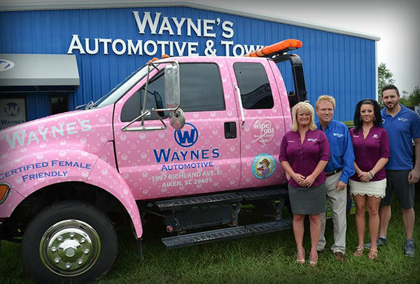 Wayne's Automotive and Towing Center
